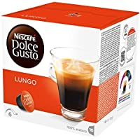 NESCAFÉ DOLCE GUSTO Lungo Coffee Pods, 16 Capsules (Pack of 3 - Total 48 Capsules, 48 Servings)