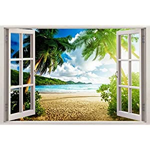 51B4ueUXapL._SS300_ Beach Wall Decals and Coastal Wall Decals