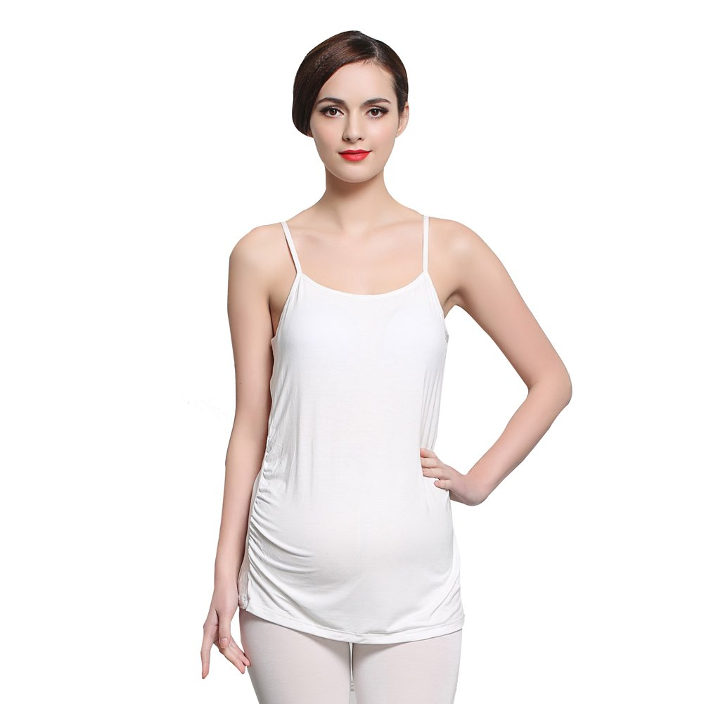 Startony Women's Breast Feeding Clothing Nursing Seamless Tank Maternity Top