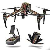 MightySkins Skin for DJI Inspire 2 – Buck Camo | Protective, Durable, and Unique Vinyl Decal wrap Cover | Easy to Apply, Remove, and Change Styles | Made in The USA