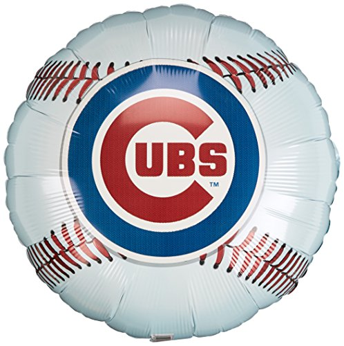 Anagram International Hx Chicago Cubs Package Party Balloons, Multicolor