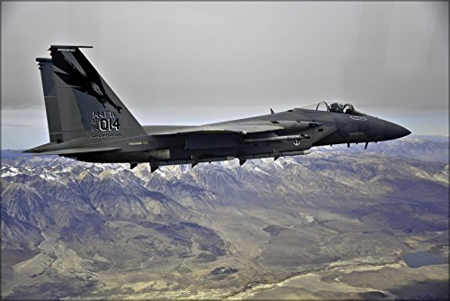 - 24x36 Poster . Air Force F-15C Eagle F-15 144Th Fw California Air National Guard