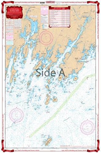 Waterproof Charts, Standard Navigation, 102 Cape Small to Boothbay and Tenants (Course Buoy)