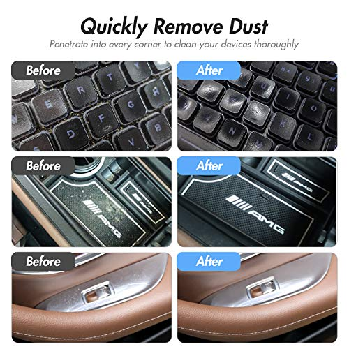 Universal Cleaning Gel for Car Vents, Keyboards,Car Interiors,Home, Electronics Remove Dust Cleaning Gel 5Pcs