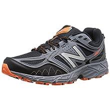 New Balance Men's 510v3 Trail Running Shoe, Black/Grey, 9 D US