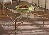 Elegant BARSTOW Coffee Table Glass Iron MINIMALIST Review