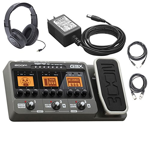 Zoom G3X USB Guitar Effects Console (with Expression Pedal) - Import