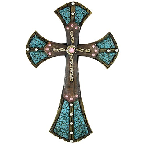 Pine Ridge Traditional Celtic Style Wall Hanging Cross With