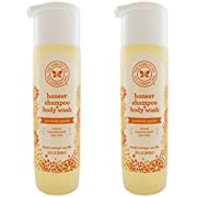 The Honest Company Shampoo and Body Wash (Pack of 2) 10 Fl Oz