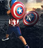 12.8 inch Captain America Shield with Flash Light