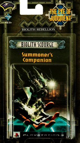 - The Eye of Judgment: Biolith Scourge Theme Deck - Playstation 3