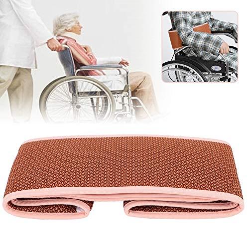Ruiqas Adjustable Seat Strap, Wheelchair Safety Waist Belt, Soft Comfortable Prevent Sliding Wheelchair Belt (Color : Orange, Size : M) (Best Wheelchair Accessible Resorts)