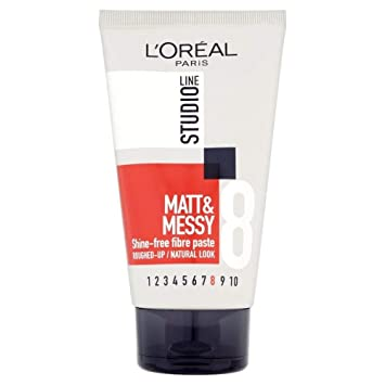 Amazon Com L Oreal Studio Line Matt Messy Shine Free Fibre Paste