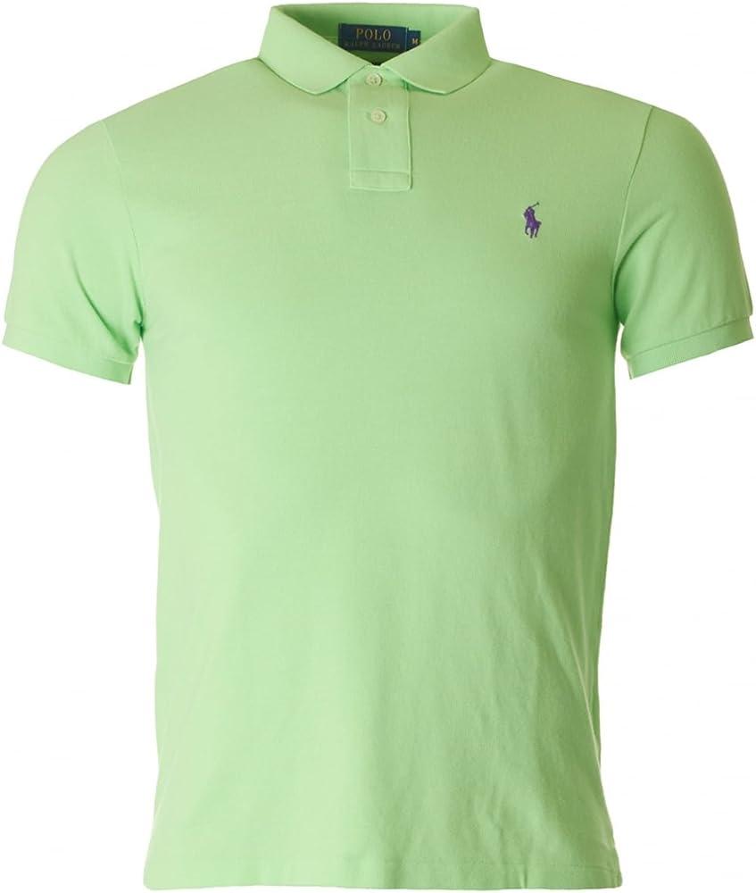 Ralph Lauren Polo – Polo Verde Slim – Fit Logo, Verde (verde ...