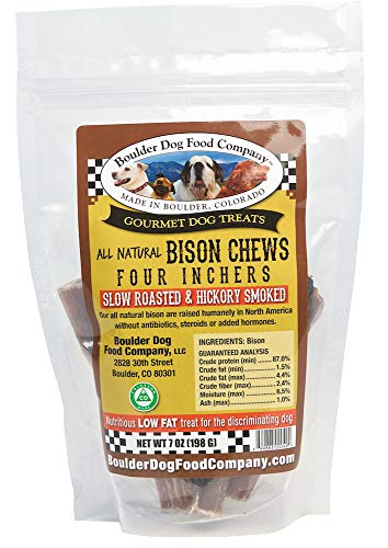Boulder Dog Food Company Bison Chews