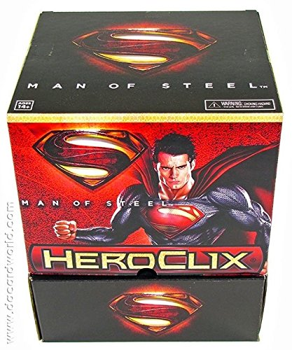 DC HeroClix Man of Steel 24-Pack Booster Box .HN#GG_634T6344 G134548TY67570