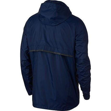 Nike Shield Chaqueta, Hombre, Blue Void/Reflective Black, XX-Large