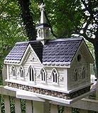 "19"" Fully Functional Historic Star Barn Outdoor Garden Birdhouse"