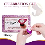 100 Prefilled Communion Cups with Juice and Wafer