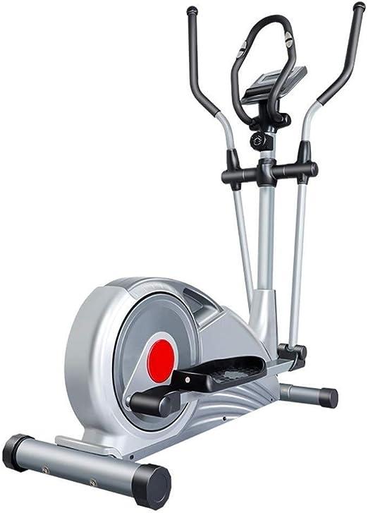 NO BRAND Bicicleta elíptica Entrenador elíptico con el Monitor LCD ...