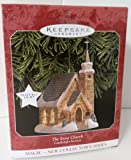 The Stone Church Candlelight Service Ornament Magic 1998 1st in Series by Hallmark