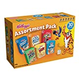 Kellogg's Breakfast Cereal Jumbo Assortment Pack (Single-Serve Boxes, 30-Count)