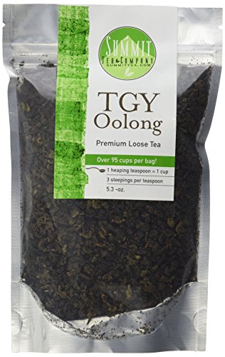 Tie Guan Yin Oolong Tea - Iron Goddess of Mercy - Net Wt. 5.3oz. ()