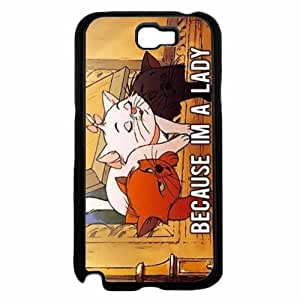 Because I'm A Lady Plastic Phone Case Back Cover Samsung Galaxy Note II 2 N7100
