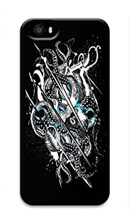 Cool Abstract Painting Extinct Custom Slim 3D Case For Ipod Touch 4 Cover