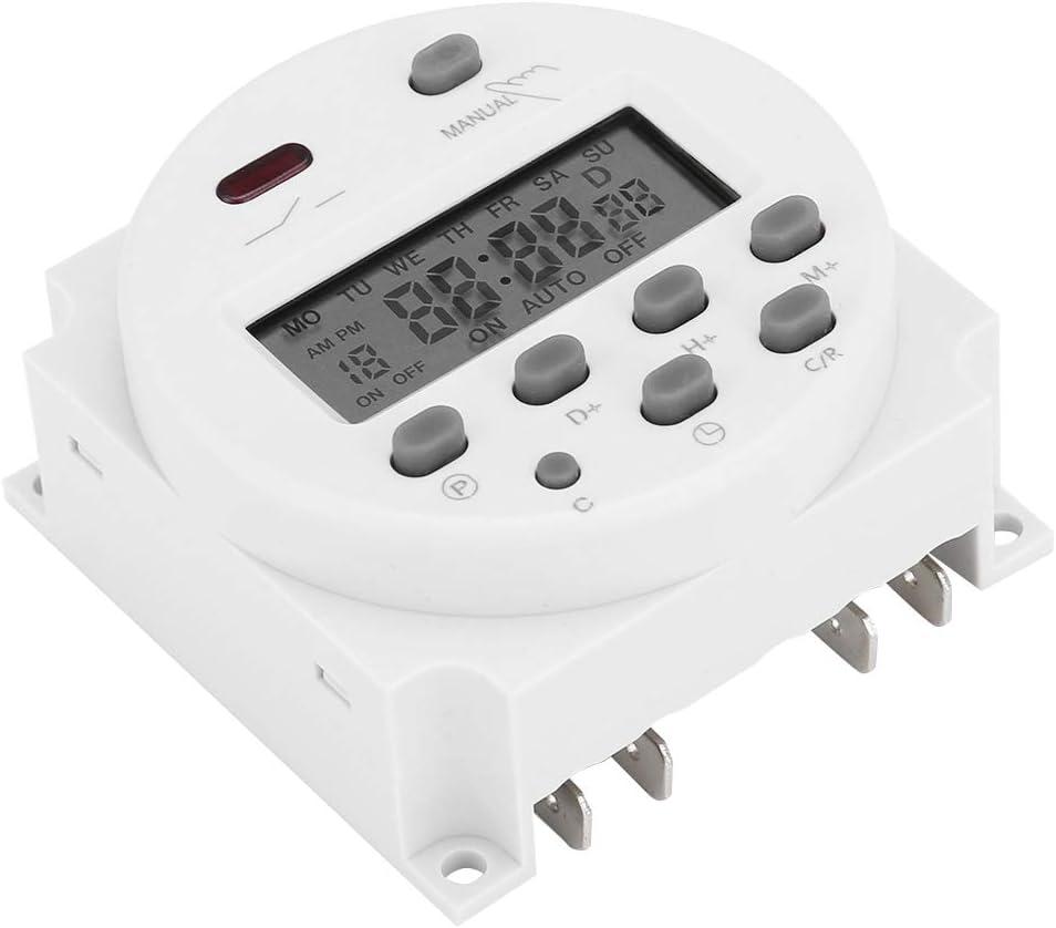ROSEBEAR Cn101a DC 12 V Mini LCD Num/érique Micro-Ordinateur Contr/ôle Puissance Minuterie Interrupteur /Économie D/énergie