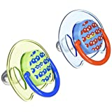 Philips Avent Orthodontic Pacifier, 6-18 Months, Free Flow, Fashion SCF172/22