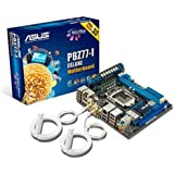 Asus P8Z77-I Deluxe Motherboard (Socket 1155, Intel Z77, DDR3, S-ATA 600, Mini ITX, Dual Intelligent Processors 2 with DIGI+ VRM, USB 3.0 Boost)