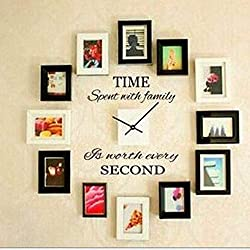 Balabella Time Spent Family Is Worth Every Second,Wall Decal Home Decor Art