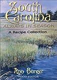 South Carolina, Ann Burger, 0913383856