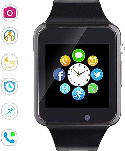 Amazon.com: Beaulyn Reloj inteligente Bluetooth, pantalla ...