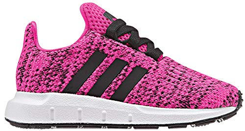 adidas Originals Kids Baby Girl's Swift Run INF (Toddler) Shock Pink/Black 7 M US -
