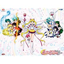 sailor moon - sailor stars box #01 (eps 167-183) (4 dvd) box set dvd Italian Import by animazione