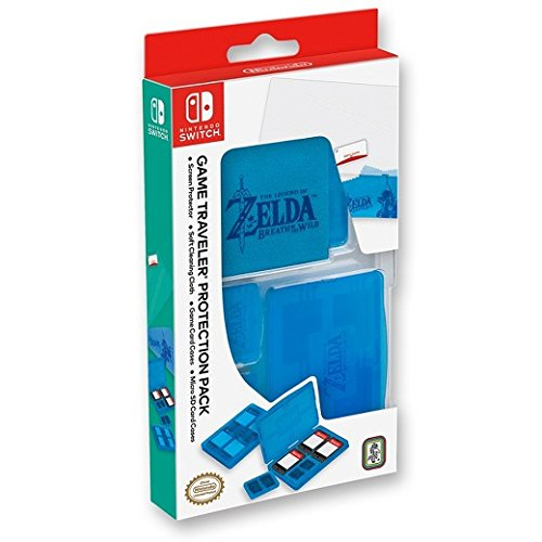 Nintendo Switch Game Traveler Protection Pack The Legend of Zelda Breath of the Wild