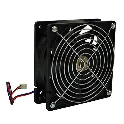 High Cfm 12v Cooling Fans : Highfine cm mm cfm rpm cpu cooling fan