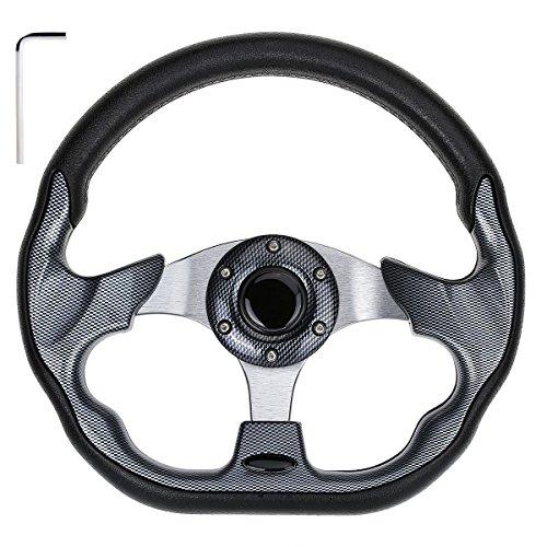 10L0L Golf Cart Steering Wheel, Generic of Most Golf cart EZGO Club Car Yamaha (style2 ()