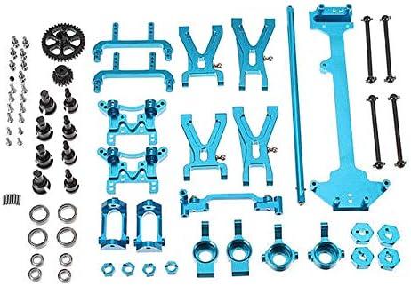 Genzichta Juego de 6 piezas de varillas de metal ajustables para Wltoys A949 A959 A969 A979 K929 RC