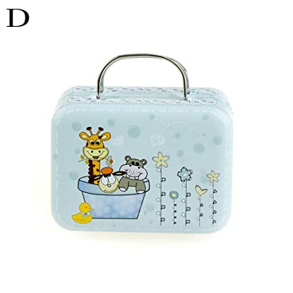 911e6bdc2758 Storage Boxes & Bins - Mini Vintage Luggage Shape Storage Tin Lovely ...