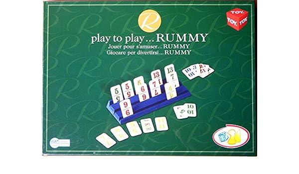 Play to Play... Rummy: Amazon.es: Juguetes y juegos