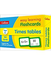 Times Tables Flashcards: fun games and activity ideas for times tables (Collins Easy Learning KS2)