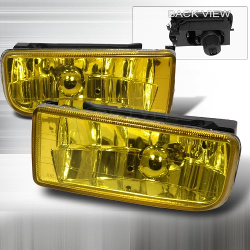 Spec-D Tuning 1992-1998 BMW 3-series 3 Series E36 Crystal Foglights Yellow Bmw 318i Fog Light