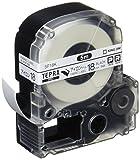 KINGJIM Tepura PRO tape SF18K (Iron label / black characters 18mm width)