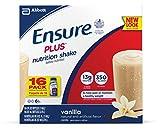 Ensure Plus Nutrition Shake, Vanilla, 8 ounces, 16 count