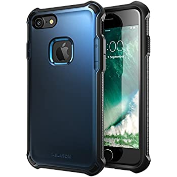 iPhone 7 Case, i-Blason Venom [Dual Layer] Apple iPhone 7 Case Cover [Ultra Slim] Hybrid TPU Cover / Hard Outter Shell (blue)