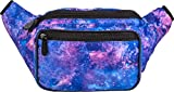 Galaxy Fanny Pack - Festival Belt Waist Bag | Rave Accessories by SoJourner