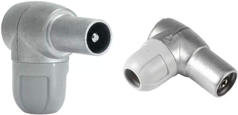 Televés F4312300 Conector macho diámetro 9,5mm + 0 Conector hembra diámetro 9,5mm